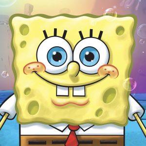 Hand drawn 2D Spongebob image