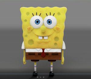 2D to 3D Spongebob Translation